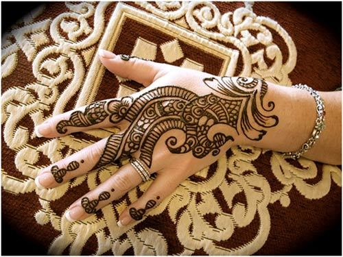 Beautiful Arabic Henna Designs for Ramadan 2017