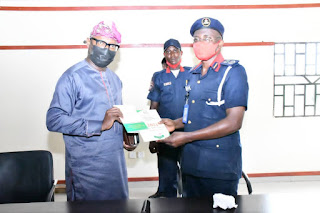 NSCDC Assures OGSIEC Of  Support  For  Council Polls