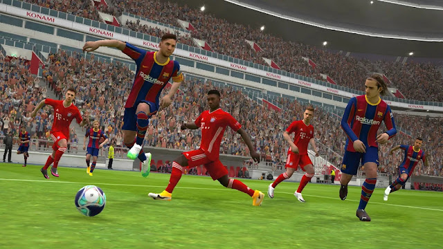 eFootball PES 2021 Free Android Game on Apcoid.com