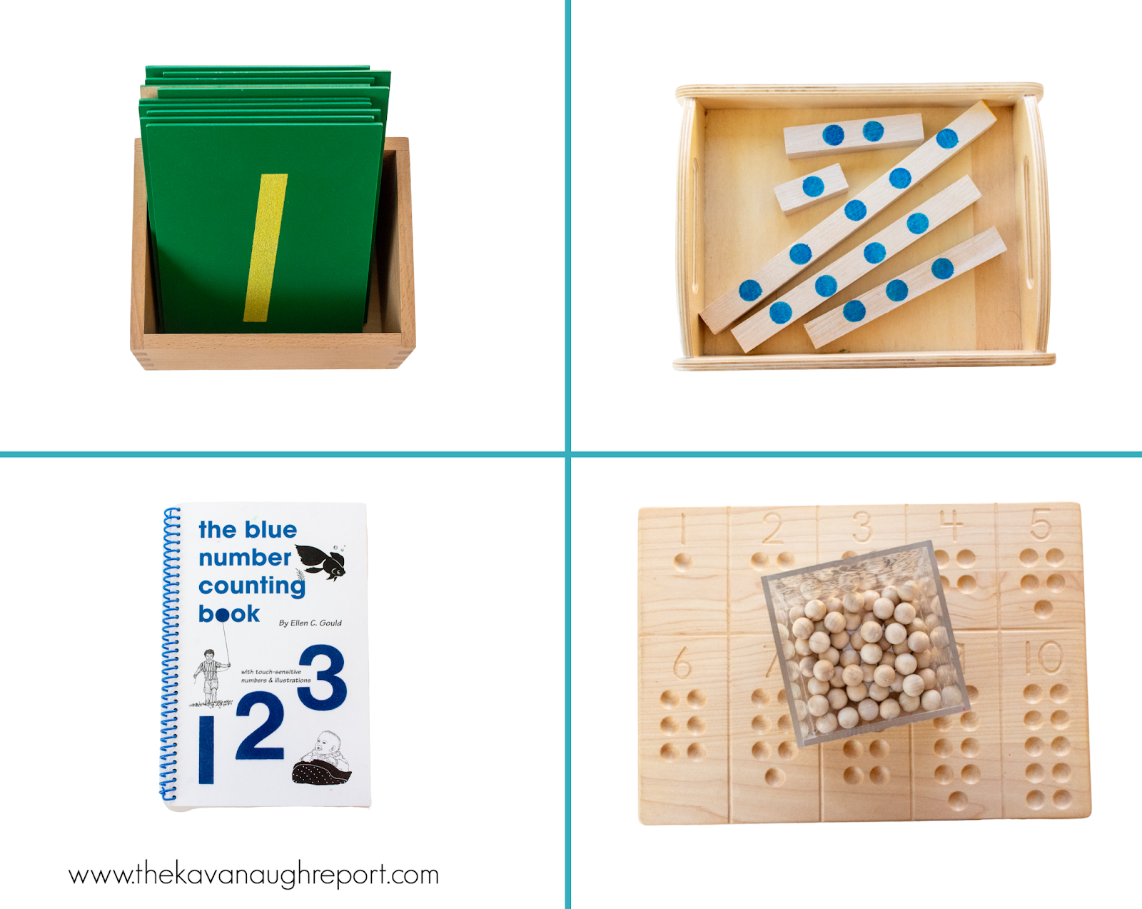 Here is a detailed look at the Montessori activities on a 3-year0old shelf at home. These toys and materials are great for learning a variety of skills including math, language, and science.