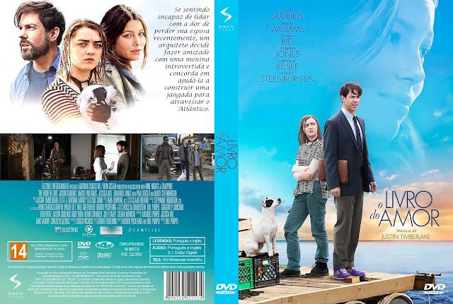 Capa DVD O Livro do Amor [Exclusiva]