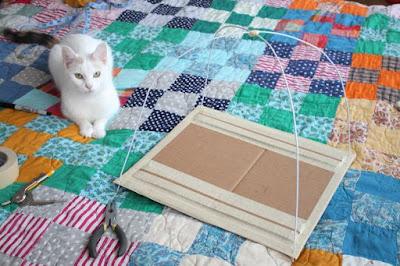 เต้นท์แมว งาน DIY เสื้อผ้าเก่าน่ารักๆ 8