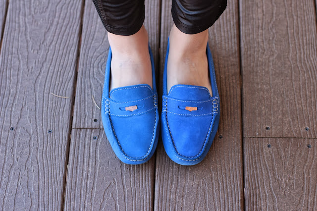 blue suede shoes, blue loafers, suede penny loafers, royal blue loafers, cobalt blue loafers
