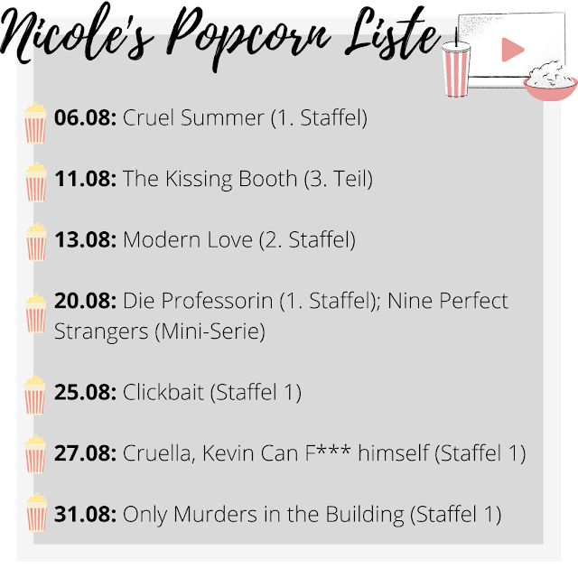 Popcorn-Liste, Streaming Neuheiten, Netflix, Amazon Prime, Disney+, Serienjunkie