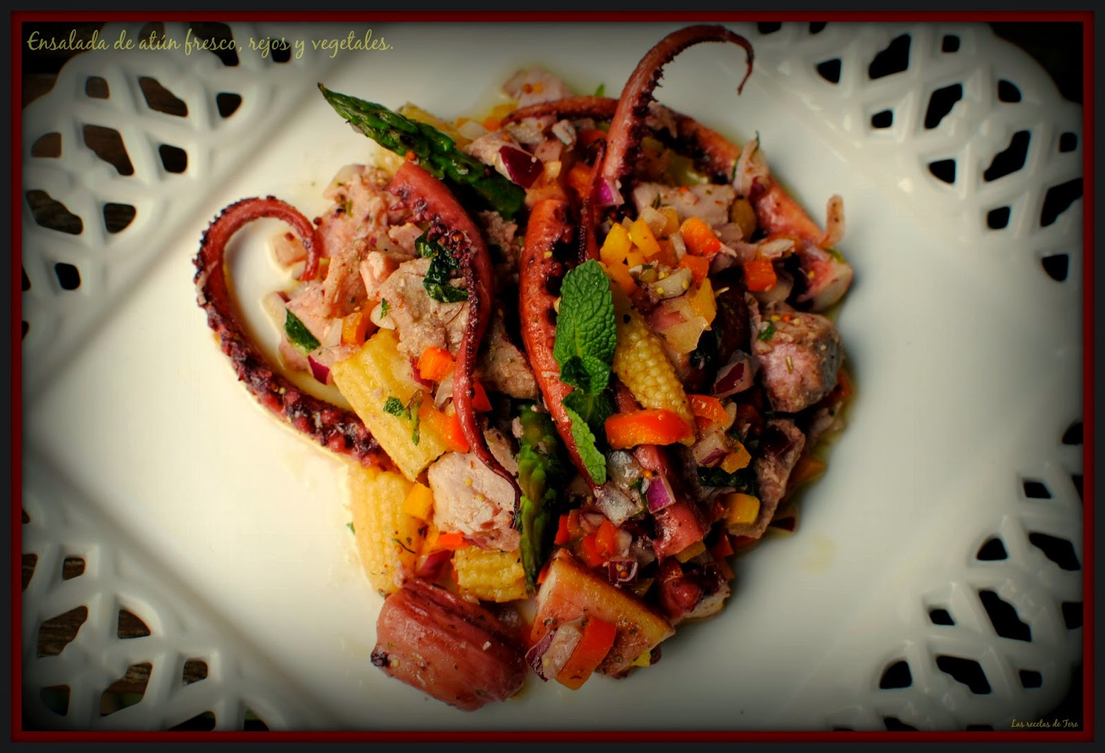 ensalada de atún fresco rejos y vegetales tererecetas 01