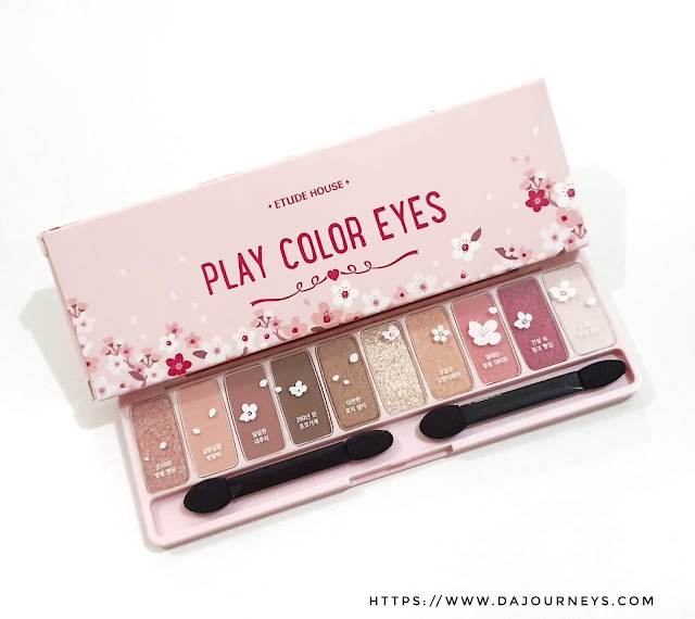 Review Etude House Play Color Eyes Palette Cherry Blossom