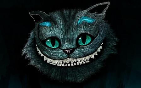 caravana Cuidar al límite  Maullando con Rito: El gato de Cheshire