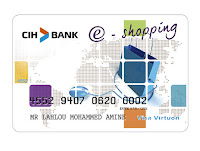 Carte eshopping cih bank