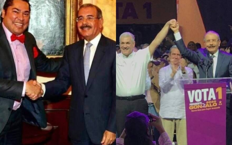 """El Pachá: """"Gracias presidente Danilo Medina por escuchar mi llamado al levantarle la mano a Gonzalo Castillo y sellar la victoria el domingo 6 de octubre"""""""