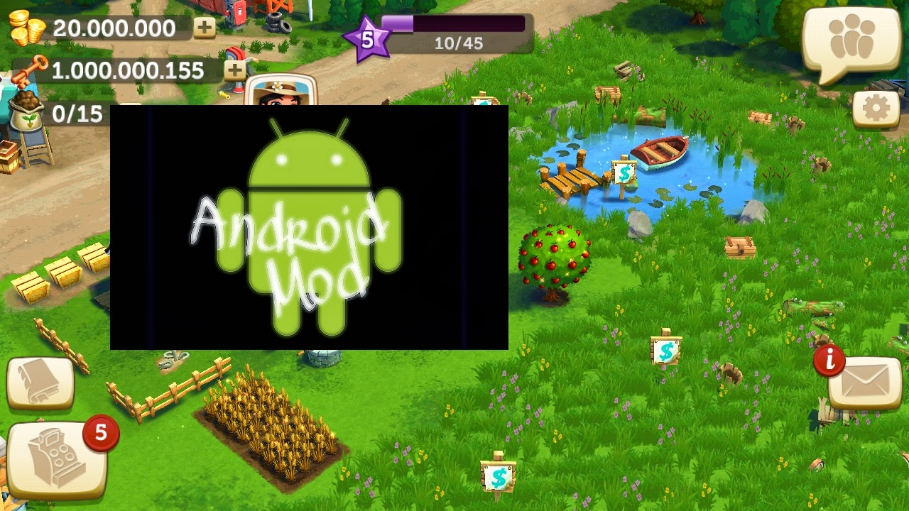 download game berkebun apk mod