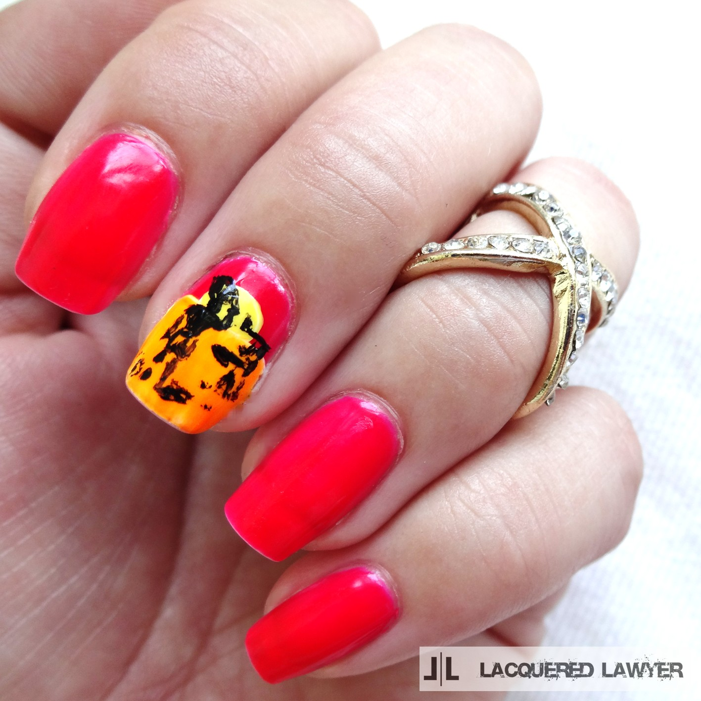 The Endless Summer Nail Art