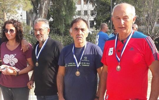 Χάλκινο μετάλλιο στο πετάνκ για Μπόλλα και Αγγελόπουλο από την Αργολίδα