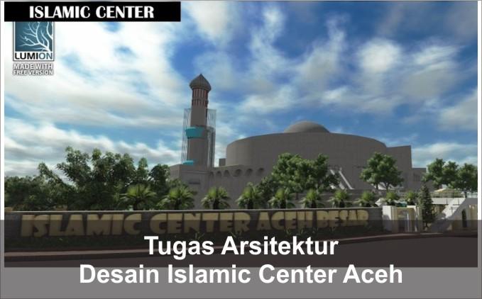 desain islamic center