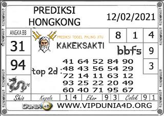 Prediksi Togel HONGKONG DUNIA4D 12 FEBRUARI 2021