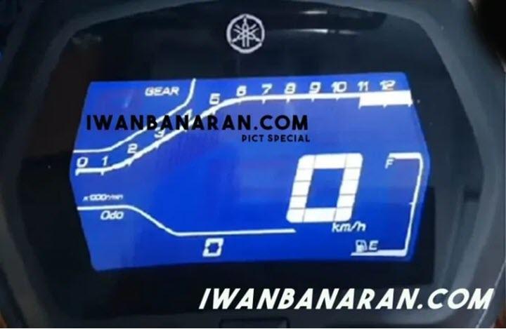 Hé lộ hình ảnh đầu tiên về cụm đồng hồ của Yamaha Exciter 155 VVA