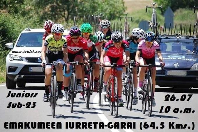La Emakumeen Iurreta - Garai se disputará el 26 de julio