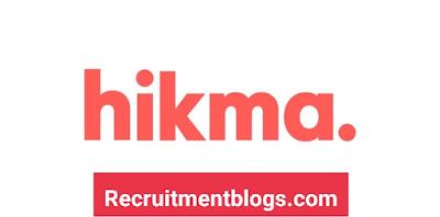 Summer Internship - Medical Representative - All Over Egypt At Hikma Pharmaceuticals