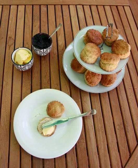Scones per esmorzar