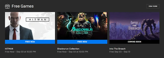 Masa berlaku HITMAN dan Shadowrun Collection Gratis