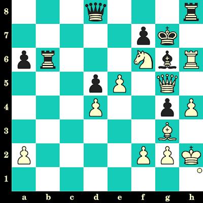 Les Blancs jouent et matent en 2 coups - Alexander Morozevich vs Bogdan Belyakov, Tcheliabinsk, 2018