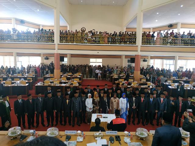 Sah 45 Legislator Kabupaten Bone Masa Jabatan 2019-2024 Mulai Bertugas