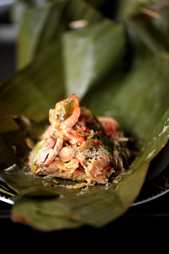 Resep Pepes Jamur Tiram : resep, pepes, jamur, tiram, Resep, Bothok, Jamur, Tiram, Dengan, Lamtoro, Udang, Taste