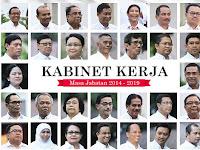 Tiga Menteri Jokowi Bakal Jadi Tim Pemenangan di Pilpres 2019