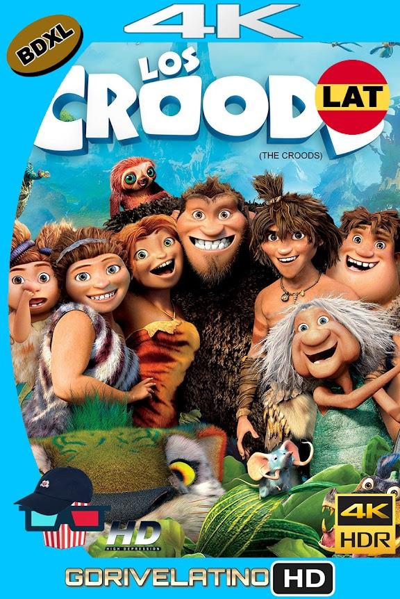 Los Croods (2013) BDXL 4K UHD HDR Latino-Ingles ISO
