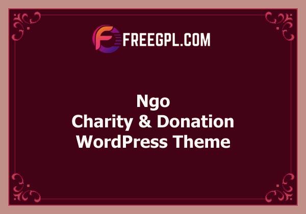 NGO - Charity & Donation WordPress Theme Free Download