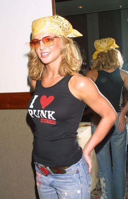 Britney Spears 'I Love Punk' shirt.  PYGear.com