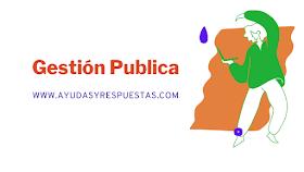 ADMINISTRACIÓN Y GESTIÓN PUBLICA