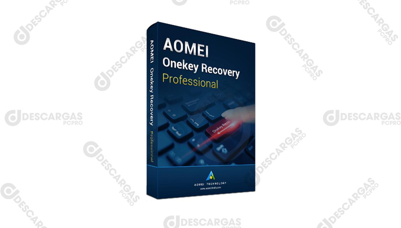 AOMEI OneKey Recovery Professional v1.6.4, Software de copia de seguridad y restaurar el sistema