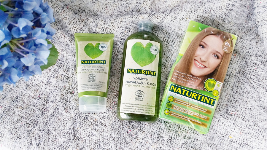 Naturtint • Farba do włosów, 8N Pszeniczny Blond | Szampon utrwalający kolor | Odżywka ochronna utrwalająca kolor