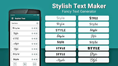 Mengubah tulisan menjadi puluhan font unik