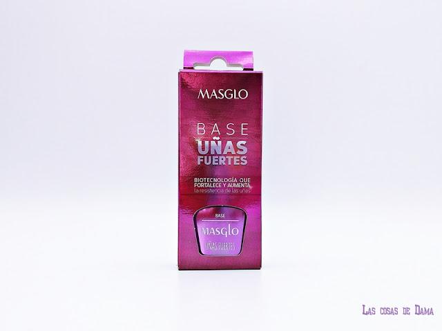 Bases tratamiento Masglo uñas manicura nailpolish beauty belleza laca esmalte manos