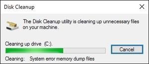 utilitas Disk Cleanup