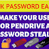 Make Your USB or pendrive a password stealer.