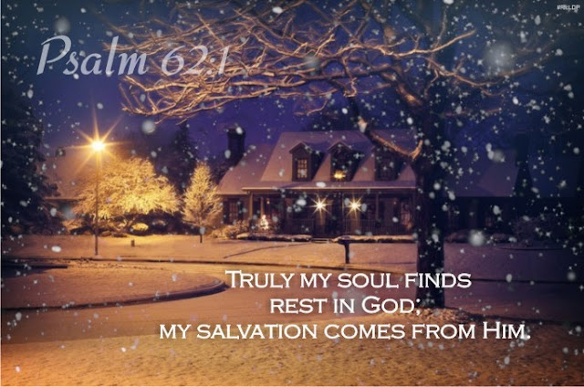 Psalm 62:1 picture Bible verse