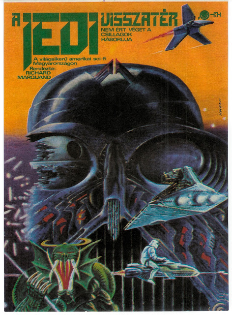 Polish Jedi Return of the Jedi promotional poster