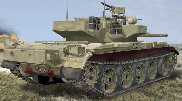 O Ti-67 «Tiran» A versão israelita do T-55