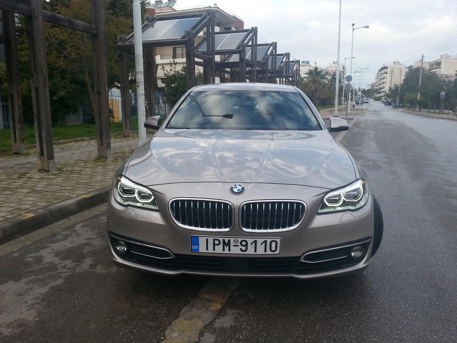 mouri Πόσο εύκολα παντιάζει η νέα BMW Σειρά 5;