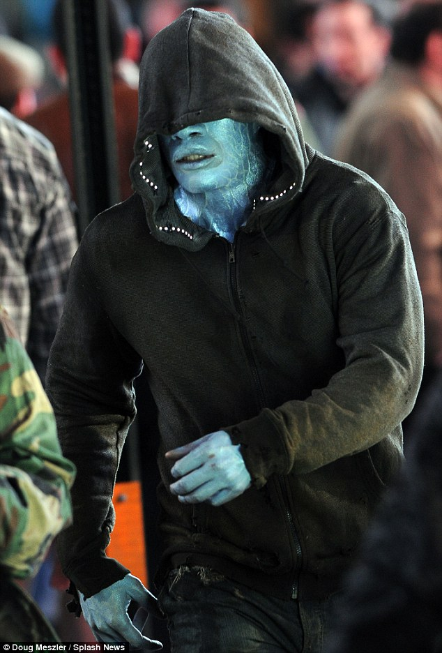 Jamie Foxx es Electro en The Amazing Spider-Man 2