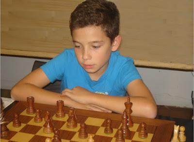 El ajedrecista Sub-12 JAN TRAVESSET SAGRÉ