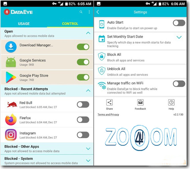 Download DataEye application for android