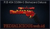 R.B 454 SS8M+S Biohazard Deluxe