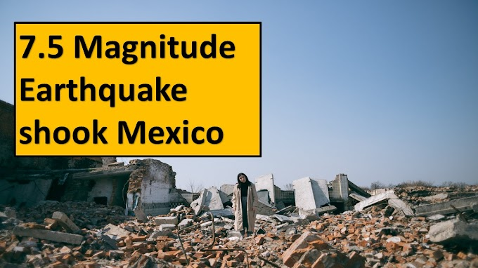 Earthquake in Mexico on Tuesday took the life of at least 4 people