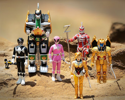 Mighty Morphin Power Rangers ReAction Figures Series 2 by Super7