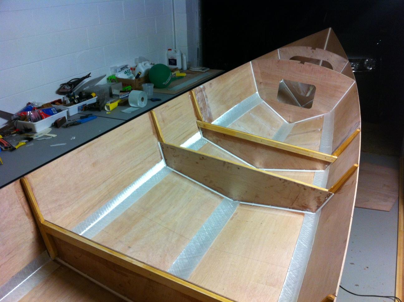 Ross Lillistone Wooden Boats Glued Lapstrake Clinker