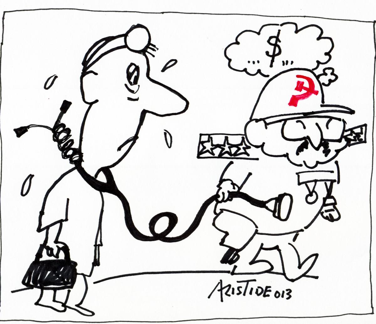 Resultado de imagen para medicos cubanos esclavos