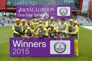 Australia tour of England 5-Match ODI Series 2015